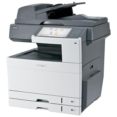 Multifunctional laser color A3 cu fax Lexmark X925DE